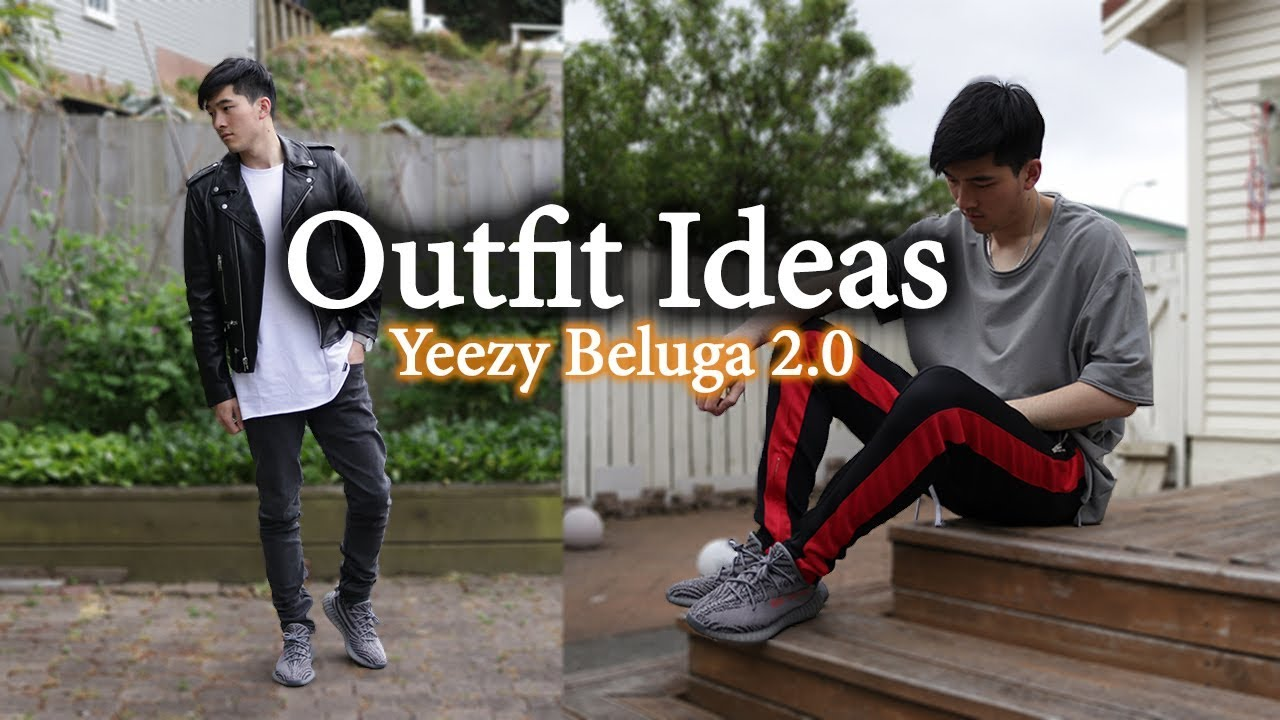 0be9c4935 Outfit Ideas w  Yeezy 350 V2 Beluga 2.0