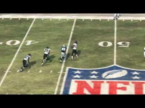 Cam Newton Intercepted by Rashean Mathis