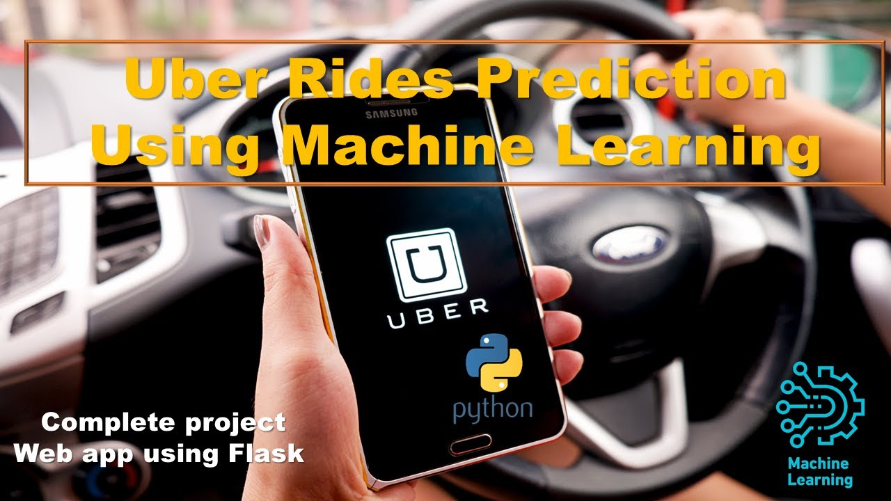 UBER RIDES PREDICTION USING MACHINE LEARNING   Complete Project