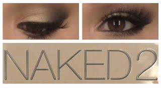 Shimmery & Smokey Eye Naked 2 Tutorial