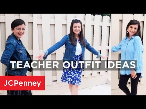 Teacher Outfit Ideas For Back To School | JCPenney
