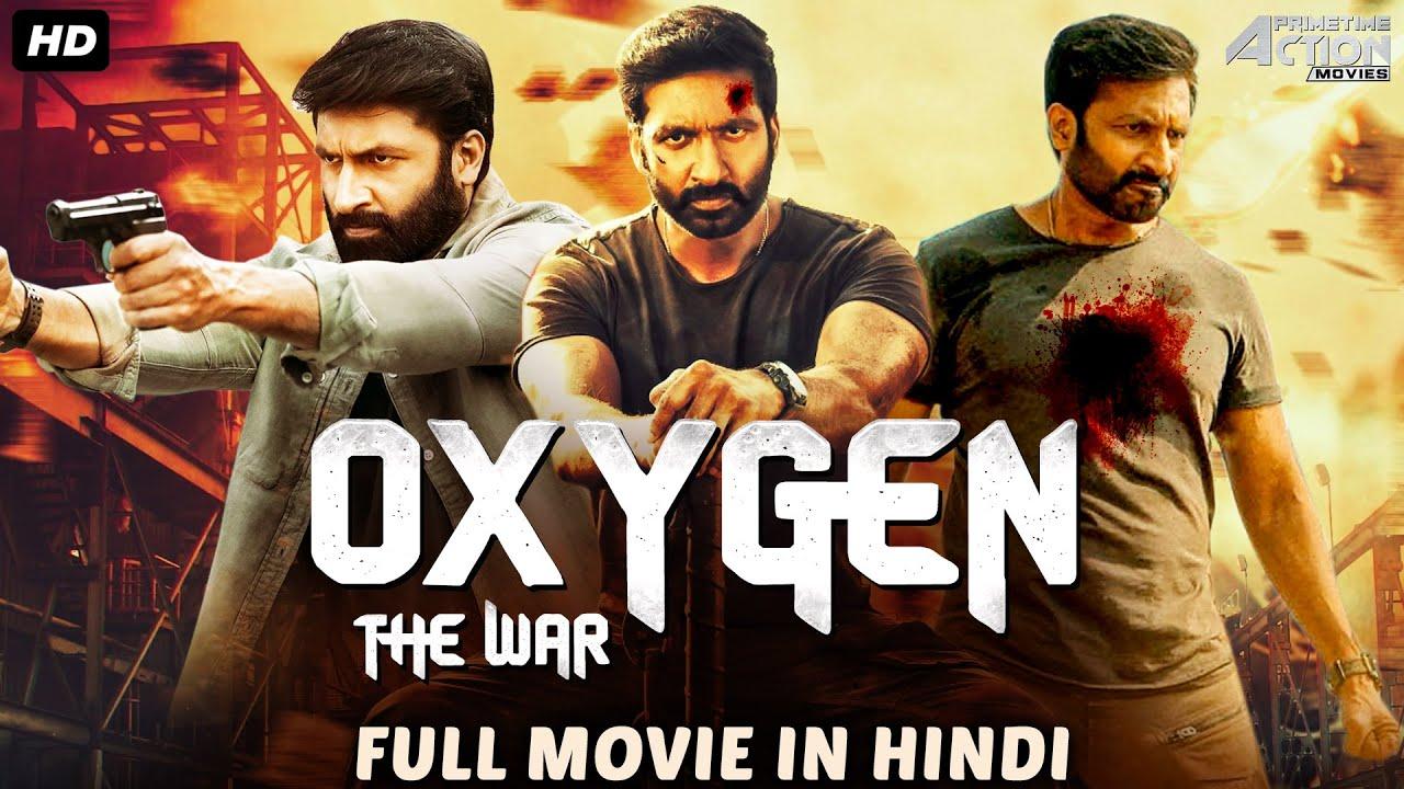 Gopichand's OXYGEN THE WAR Full Movie in Hindi | Blockbuster Hindi Dubbed Full Action Romantic Movie
