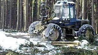 ROTTNE 5005 Forest harvester