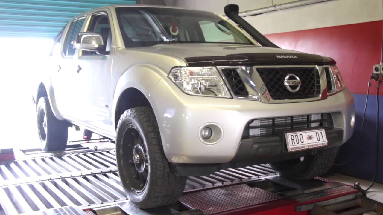 Roo Systems | Suitable for Nissan Navara D40 550 – ECU and Exhaust