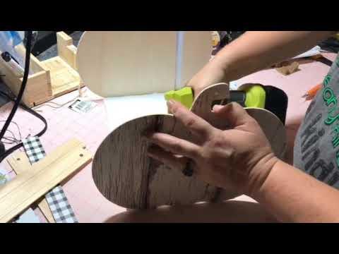 Dollar Tree DIY Wood Pumpkin Basket