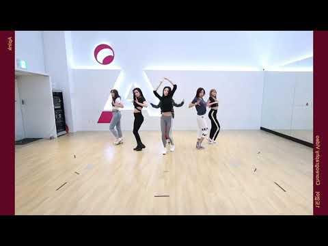 Apink Im So Sick Mirrored Dance Practice, 에이핑크 1도 없어 안무 거울모드