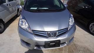 За машиной во Владивосток. Взяли Honda Fit Shuttle гибрид.