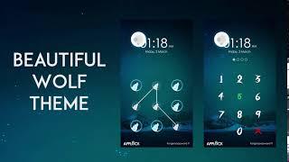Applock Theme Wolf screenshot 4