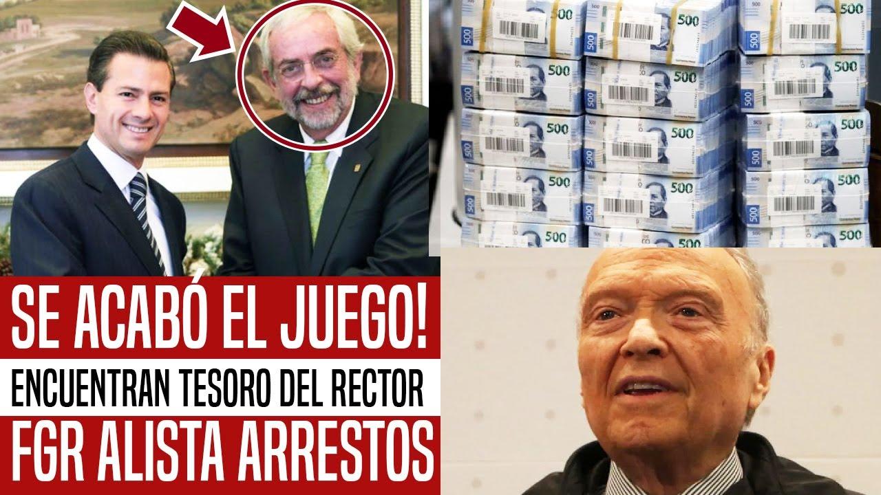 SE ACABÓ EL JUEGO! ENCUENTRAN TESORO ESCONDIDO DEL RECTOR DE UNAM. FISCALÍA ALISTA ARRESTOS. NOTICIA