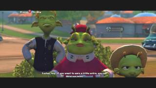 Planet 51 The Game HD XBOX 360 (game play)