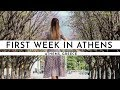 OUR FIRST WEEK IN ATHENS · GREECE IS AMAZING! | TRAVEL VLOG #65
