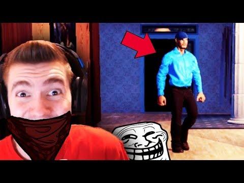 TROLLEI O SEGURANÇA da CASA!!! - Thief Simulator