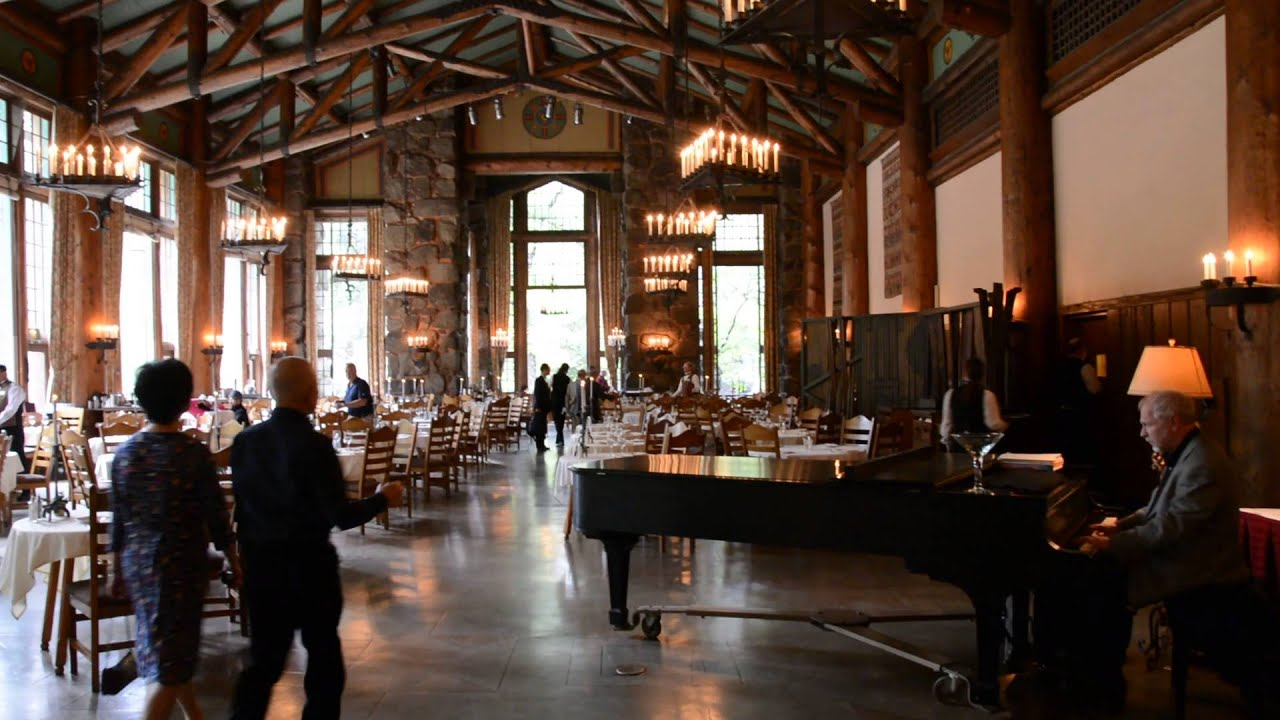 ahwahnee dining room - youtube