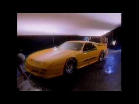 1990 Dodge Daytona Iroc Commercial Youtube