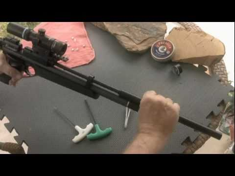Benjamin Marauder Air Pistol:  Increasing Velocity By Varying Transfer Port Sizes