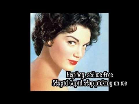 Connie Francis Stupid Cupid Lyrics