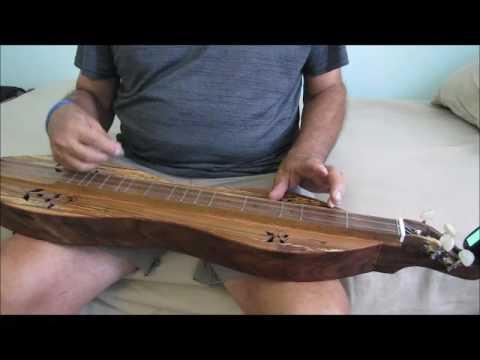 """""""The Southwind"""" - Electric Dogwood Dulcimer"""