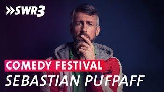Sebastian Pufpaff im Live-Talk beim SWR3 Comedy Festival 2018