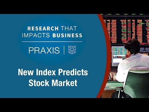 New Index Predicts Stock Market