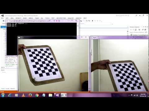 stereo camera calibration opencv  with source code # part 1