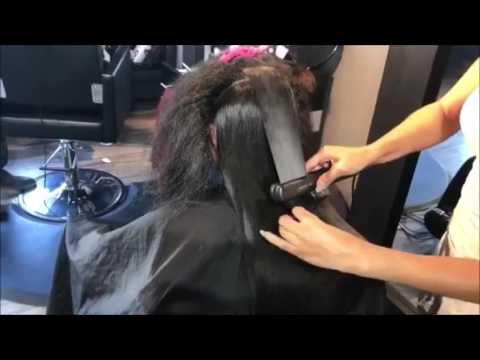 Hair Styler Steamer Hair Straightener YouTube