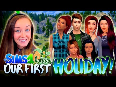 ✨SPECIAL EPISODE!✨ Our First Sim Holiday! 🏔 (The Sims 4 HOLIDAY! 🌲)