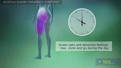 Sciatica during pregnancy Symptoms
