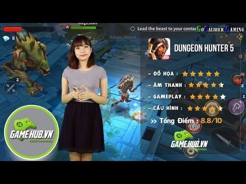 Đánh Giá Game Dungeon Hunter 5 - Gameloft