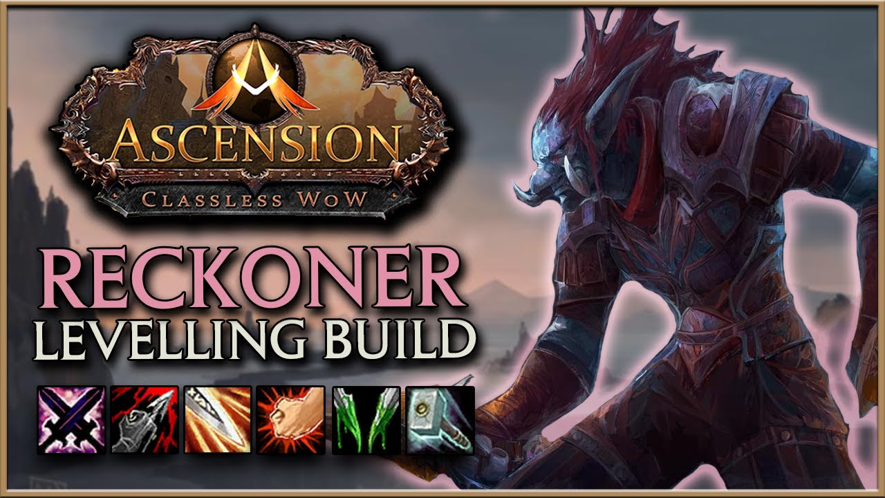 WoW Ascension | Deadly Reckoning Build Guide | Ascension PvP/PvE Leveling  Build