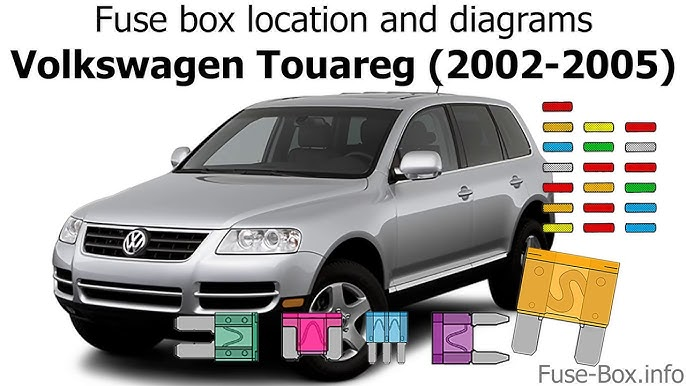 Fuse box location and diagrams: Volkswagen Touareg (2002-2005) - YouTubeYouTube