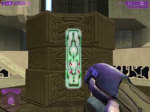 Halo 2 Vista - Marine allies on Sacred Icon