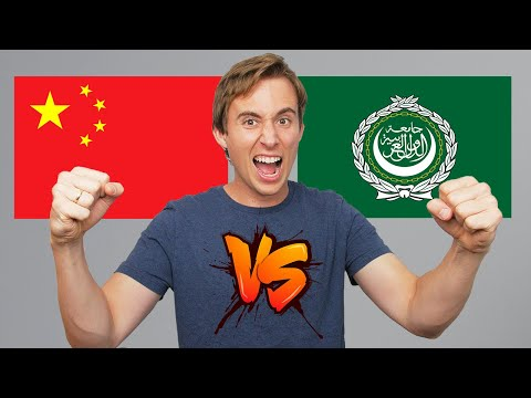 Arabic vs. Mandarin: Which Language is Harder? (and which one should you learn in 2021?)