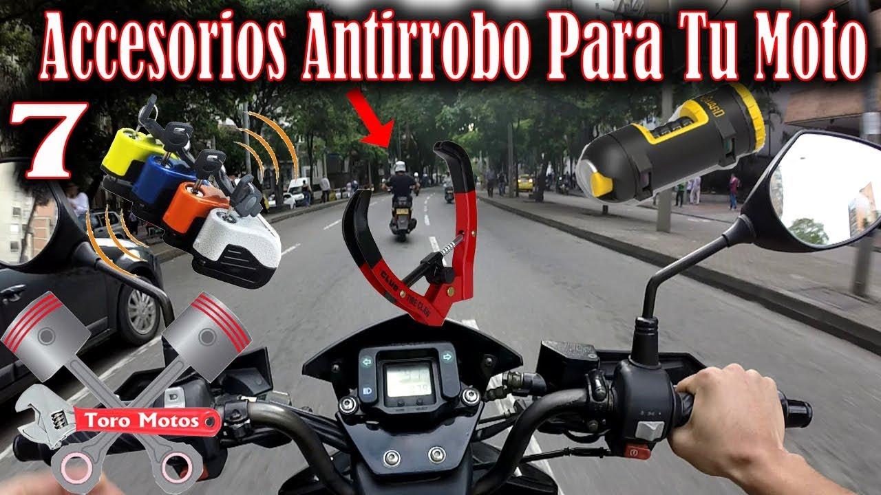 89620bf21c2 7 accesorios PARA EVITAR EL ROBO DE TU MOTO debes conocerlo ...