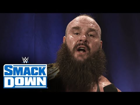 Braun Strowman emotional after championship moment: SmackDown Exclusive, Jan. 31, 2020