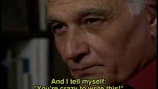 Jacques Derrida - Fear of Writing
