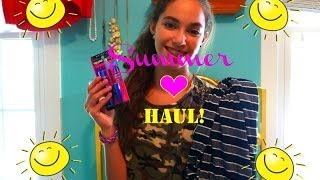 Collective Summer Haul! ☀ Clothing, Accessories & Makeup ☀ delsbeautygalore Thumbnail