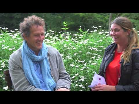 Monty Don from Gardeners World and BBC -intervju med OdlingsTV och livesändning idag från Sofiero