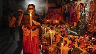 FIESTA TRADICION - DIA DE LOS  MUERTOS EN OAXACA - THE DAY OF THE DEAD.  PARTE 1