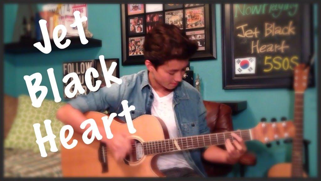 jet black heart 5sos fingerstyle guitar cover youtube. Black Bedroom Furniture Sets. Home Design Ideas