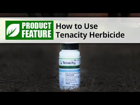 How to Use Tenacity Herbicide