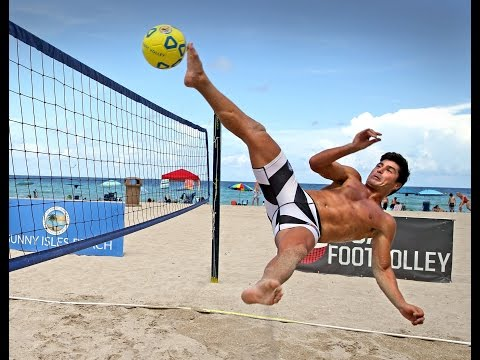 Team USA will demonstrate footvolley at the Rio Olympics