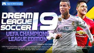 Downlaod Dream League Soccer 2019 HD ● Champions League ● Best Megamod