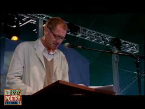 Andrew Motion reading two poems at the 2006 Dodge Poetry Festival