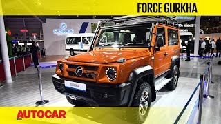 Auto Expo 2020 - All-new Force Gurkha | Walkaround | Autocar India