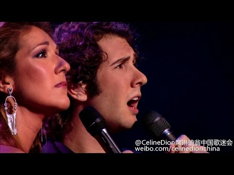 【CelineDionCn】独家 Celine Dion The Prayer with Josh Groban @ The Concert for World Children's Day 2015