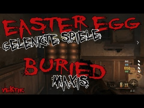 "Buried   Maxis Easter Egg ""Mined Games/Gelenkte Spiele"" KOMPLETT (German) [HD]"