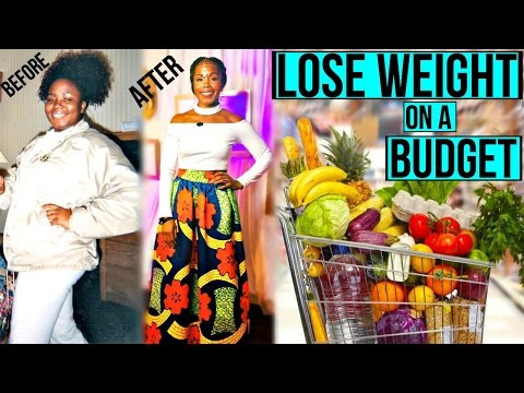 How I Lost 100 POUNDS on a SMALL BUDGET | Grocery Shopping List & Tips INSIDE | 20$ A WEEK!