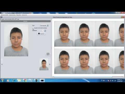 Fotos Carnet Y Pasaporte Sin Photoshop - Control De Ventas Para Estudio Fotográfico