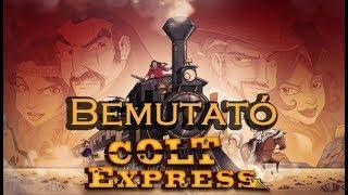 Colt Express - társasjáték bemutató