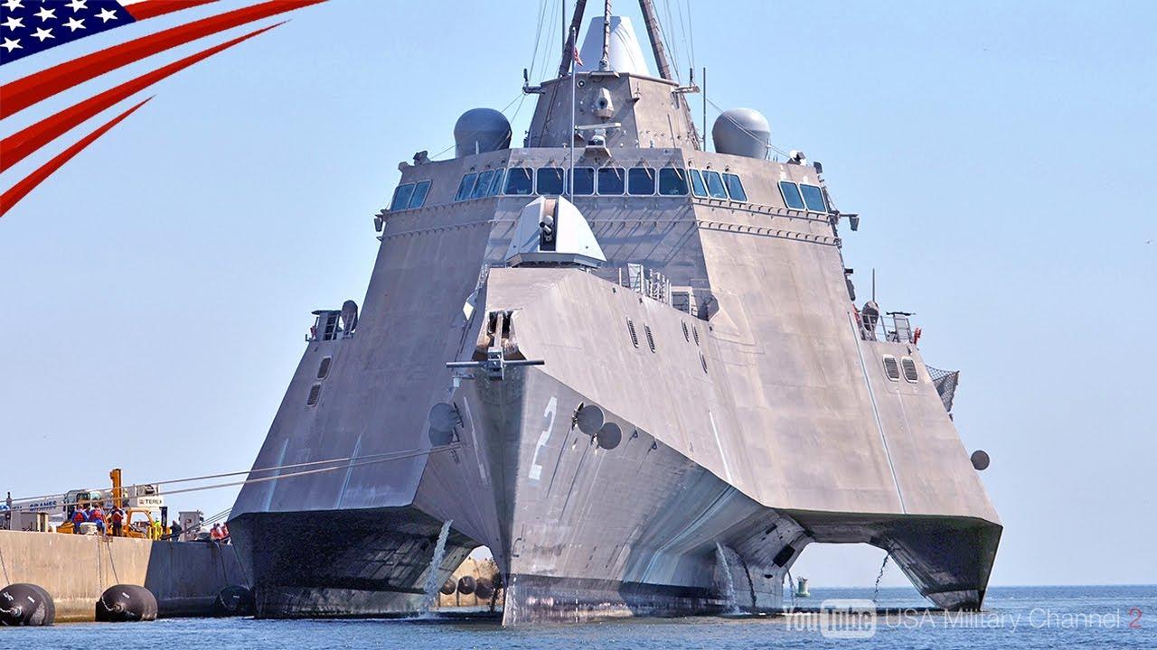 【超高速44ノット三胴船】インディペンデンス級沿海域戦闘艦の最新装備